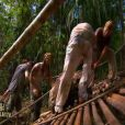 Epreuve de confort dans Koh Lanta Raja Ampat le vendredi 28 octobre 2011 sur TF1