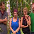 Olivier, Virginie, Florence et Maxime dans Koh Lanta Raja Ampat le vendredi 28 octobre 2011 sur TF1