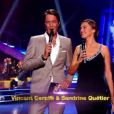 Vincent Cerutti et Sandrine Quétier dans Danse avec les stars 2, samedi 29 octobre 2011 sur TF1