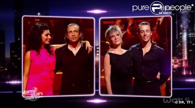Véronique Jannot éliminée dans Danse avec les stars 2, samedi 29 octobre 2011 sur TF1