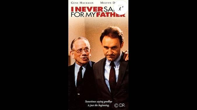 Affiche du film i never sang for my father for Dujardin ou adjani