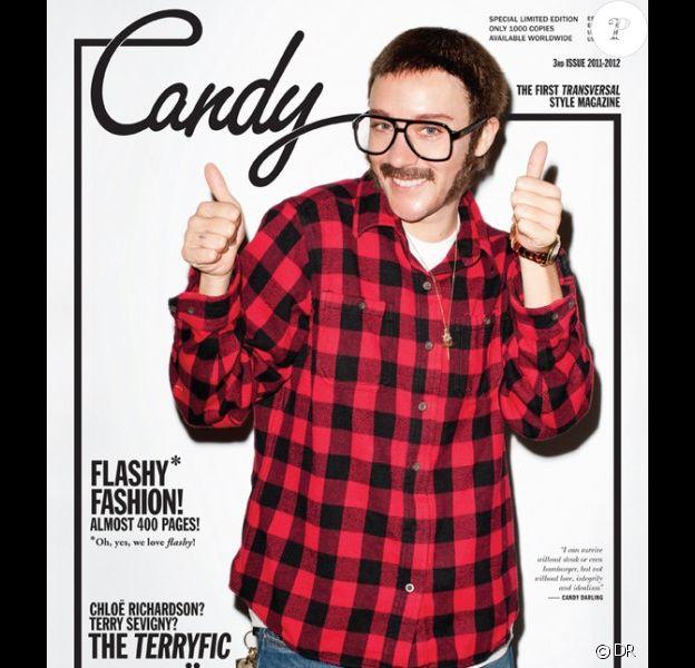 Chloë Sevigny se transforme en Terry Richardson pour sa couverture du magazine Candy.