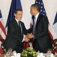 Nicolas Sarkozy et Barack Obama, deux présidents aux relations très cordiales