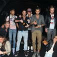 Geof passe la soirée avce les candidats de Secret Story 5 au Métropolis à Rungis le samedi 15 octobre 2011