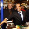 François Hollande inaugure la Foire du Livre de Brive-la-Gaillarde, le 4 novembre 2011