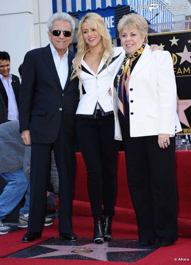 Image Gallery Shakira Parents