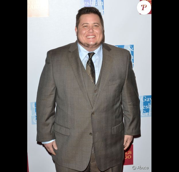 Chaz Bono pose sur le tapis rouge du gala organisé par le Gay and Lesbian Center de Los Angeles, le samedi 12 novembre 2011.