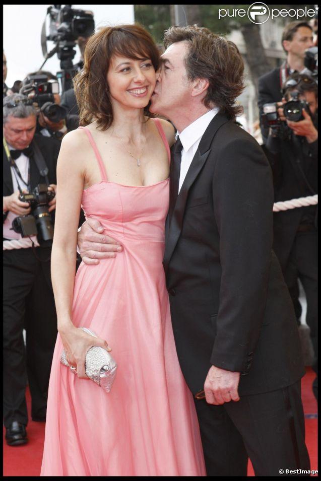 Valérie Bonneton et François Cluzet en mai 2009.