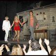 Johnny Hallyday, Audrey Dana et Julien Cottereau ovationnés par le public !