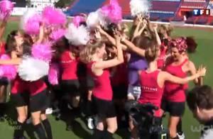 Miss France 2012 : En pom-pom girls ou en footballeuses, les filles sont divines