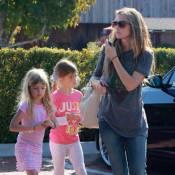 Denise Richards : Session shopping avec ses adorables Sam et Lola