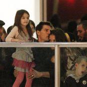 Tom Cruise et Katie Holmes: amour et complicité sur la glace avec la jolie Suri
