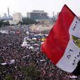 La Place Tahrir du Caire, le 25 novembre 2011, où Caroline Sinz à été violée.