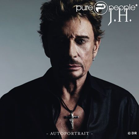 Pochette du single  Autoportrait  de Johnny Hallyday.