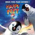 L'affiche du film Happy Feet 2