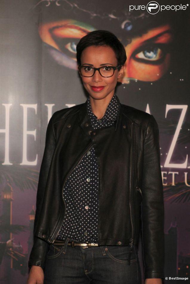 Sonia Rolland à la première de la comédie musicale Sheherazade aux Folies Bergère le 6 décembre 2011
