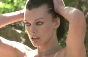 Pirelli : Milla Jovovich, Lara Stone, dans les coulisses du calendrier sexy