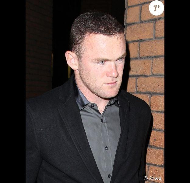 Wayne Rooney le 23 octobre 2011 à Manchester
