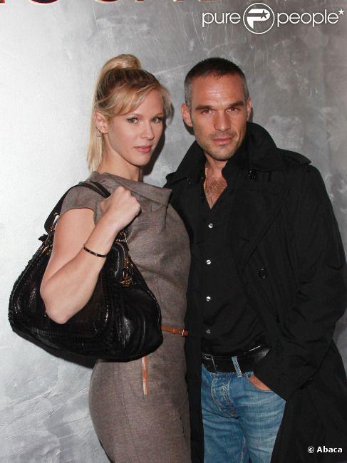Lorie et Philippe Bas en octobre 2011 à Paris