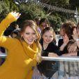 Hilary Duff, enceinte, assiste au gala de charité Danskin Goodwill à Beverly Hills le 10 décembre 2011