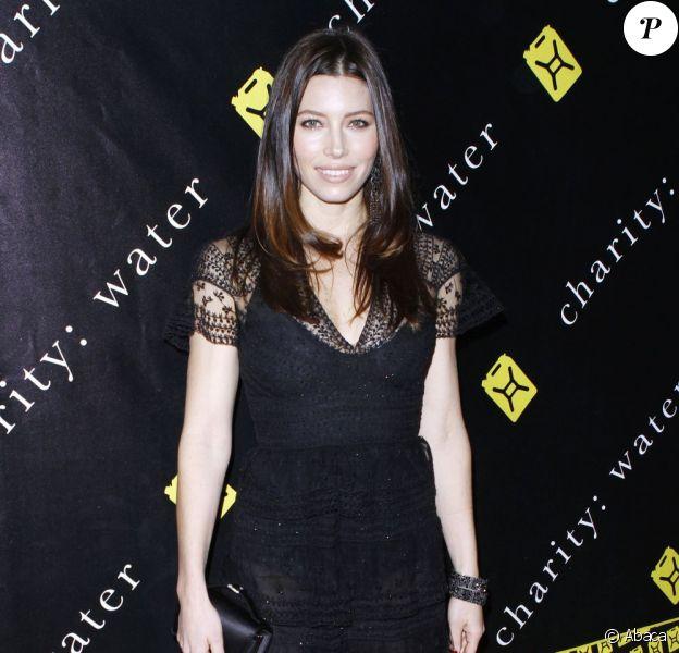 Jessica Biel lors du gala de charité Water Ball, à New York le 12 décembre 2011