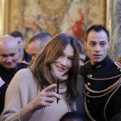 Carla Bruni : Première sortie officielle pour la jeune maman radieuse !