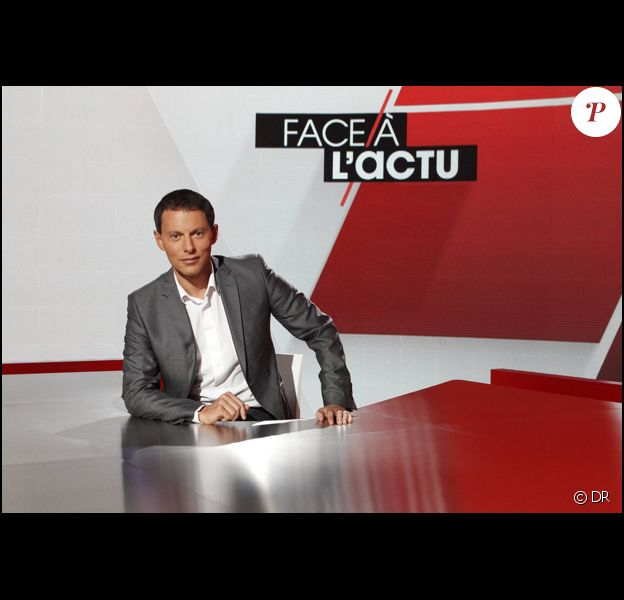 Marc-Olivier Fogiel présente Face à l'actu sur M6.