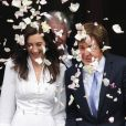 Paul McCartney et Nancy Shevell lors de leur mariage à Londres le 9 octobre 2011. Pour l'ouverture du bal, Macca avait fait jouer la chanson  My Valentine , écrite en 2009 en l'honneur de sa dulcinée.