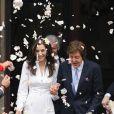 Paul McCartney et Nancy lors de leur mariage à Londres le 9 octobre 2011. Pour l'ouverture du bal, Macca avait fait jouer la chanson  My Valentine , écrite en 2009 en l'honneur de sa dulcinée.