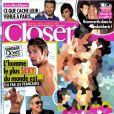 Le magazine  Closer  en kiosques le samedi 24 décembre 2011.