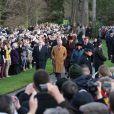 Le Noël 2011 de la famille royale britannique à Sandringham a été marqué par l'absence du prince Philip, hospitalisé, mais aussi par l'extraordinaire engouement suscité par Kate Middleton, attraction à Sandringham pour son premier Noël royal.