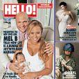 Mel B, son mari Stephen Belafonte et leur fille Madison en couverture de HELLO