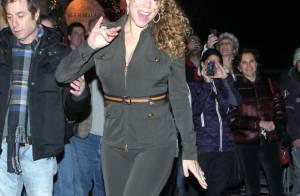 Mariah Carey : Si fière de sa nouvelle silhouette, elle ose la tenue moulante