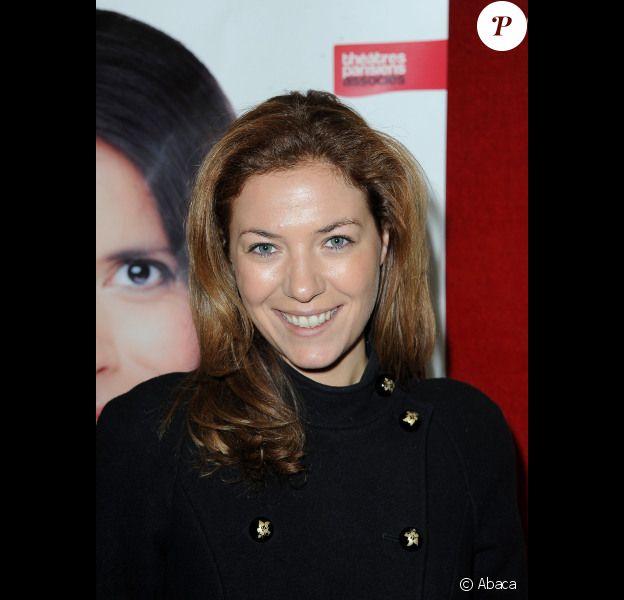 Claire Barsacq lors de la première du spectacle de Sophia Aram au palais des glaces, au profit de l'association Autistes sans frontières, le 5 janvier 2012