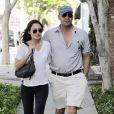 Billy Zane et sa compagne Jasmina, le 20 juillet 2010 à Beverly Hills