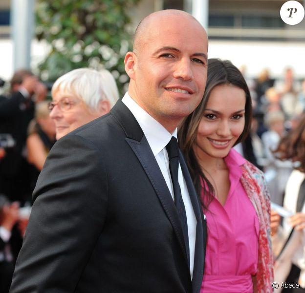 Billy Zane et sa compagne Jasmina, le 19 mai 2010 à Cannes