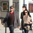Billy Zane et sa compagne Jasmina, enceinte, en janvier 2011 à Los Angeles