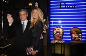 Bar Refaeli illumine les Galeries Lafayette pour une soirée arty