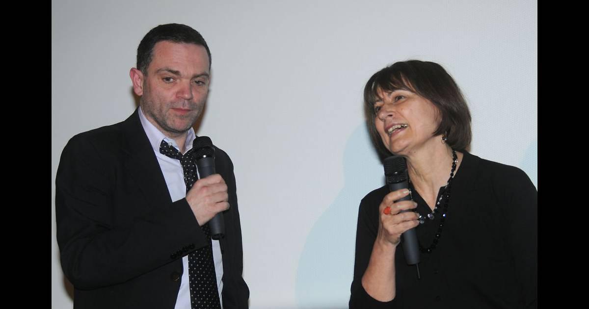 yann moix et catherine millet lors de la remise du prix saint germain paris le 18 janvier 2012. Black Bedroom Furniture Sets. Home Design Ideas