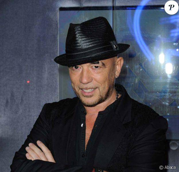 Pascal Obispo à Paris le 22 décembre 2011.