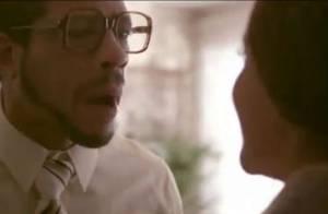 JoeyStarr, en père et mari torturé dans le clip Mamy, avec Nicoletta