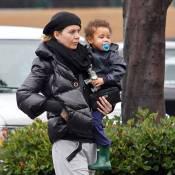 Ellen Pompeo affronte le froid de Los Angeles avec sa ravissante Stella