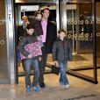 Papa d'une petite fille depuis le 24 janvier 2012 à 8h27, le prince Joachim de Danemark a partagé sa joie avec ses trois garçons, Henrik (2 ans), Nikolai (12 ans) et Felix (9 ans), au Rigshospitalet où la princesse Marie a accouché.