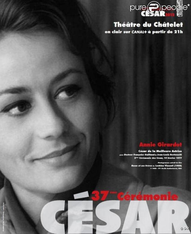 L'affiche de la 37e cérémonie des César, dévoilée en janvier 2012