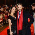 Charlotte Riley et Tom Hardy lors de l'avant-première du film Target à Londres le 30 janvier 2012