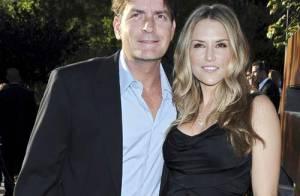 PHOTOS : Charlie Sheen et sa femme font leur première sortie !