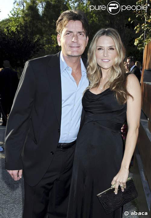 Charlie Sheen et Brooke Mueller, jeunes mariés au Chrysalis Butterfly Ball