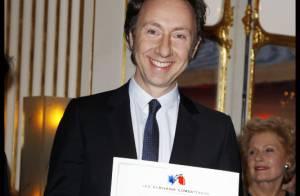 Stéphane Bern : Sa passion de la langue française récompensée devant son papa
