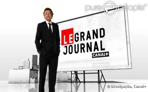 Michel Denisot présente  Le Grand Journal  du lundi au vendredi sur Canal+ à 18h45.