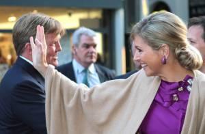 La princesse Maxima, lauréate du Prix Machiavel, partage sa fierté avec son mari